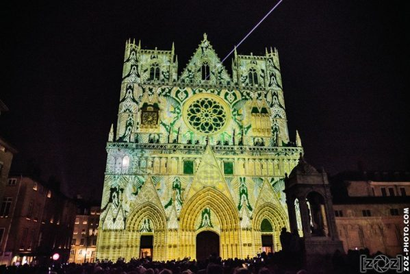 Fête des Lumières 2016: Mapping Cathédrale Saint-Jean à Lyon