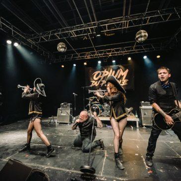 [zOz] journal: Opium du Peuple, Concert pour les 20 ans du Moulin de l'étang (Billom), le 22 septembre 2018.